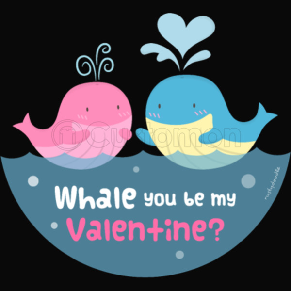 Be My Valentine Whale Pun IPhone 6/6S Plus Case