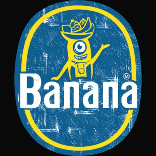 Minion Chiquita Banana Logo Unisex Hoodie