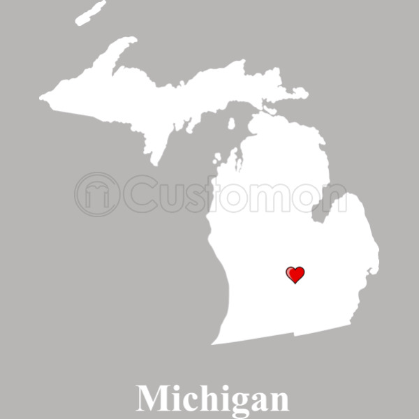 Michigan love map travel mug customon michigan love map travel mug gumiabroncs