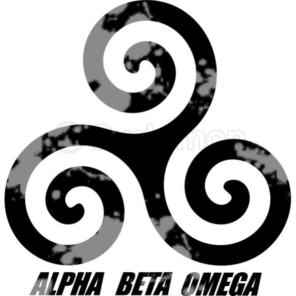 Teen Wolf Alpha Beta Omega Mens T Shirt Customon