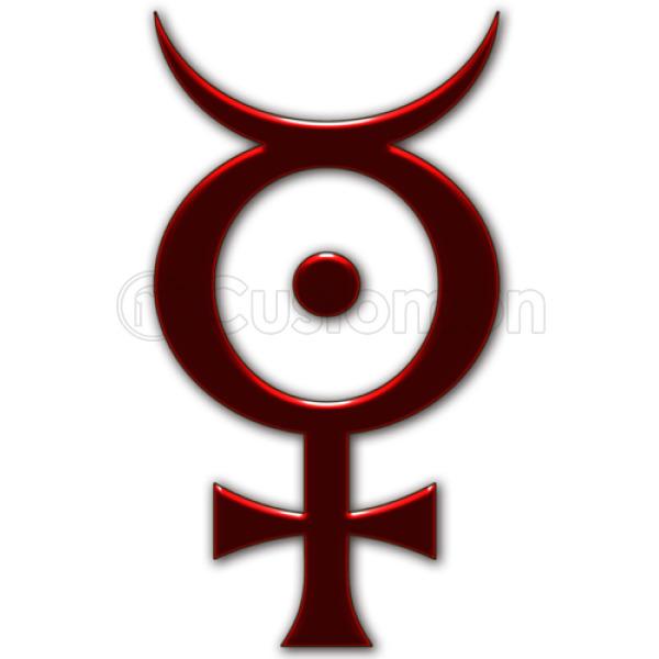 Marilyn Manson Symbols Unisex Zip Up Hoodie Customon