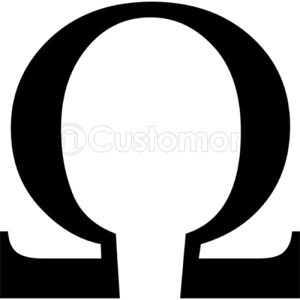 God Of War Omega Symbol Apron Customon
