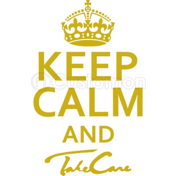 Keep Calm And Take Care Travel Mug Customon