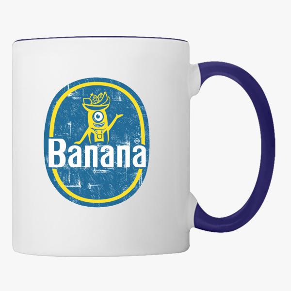 Minion Chiquita Banana Logo Coffee Mug