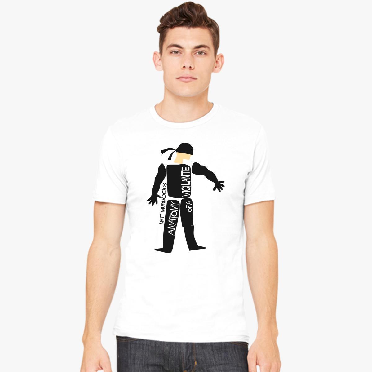Anatomy of a Vigilante Men\'s T-shirt | Customon.com