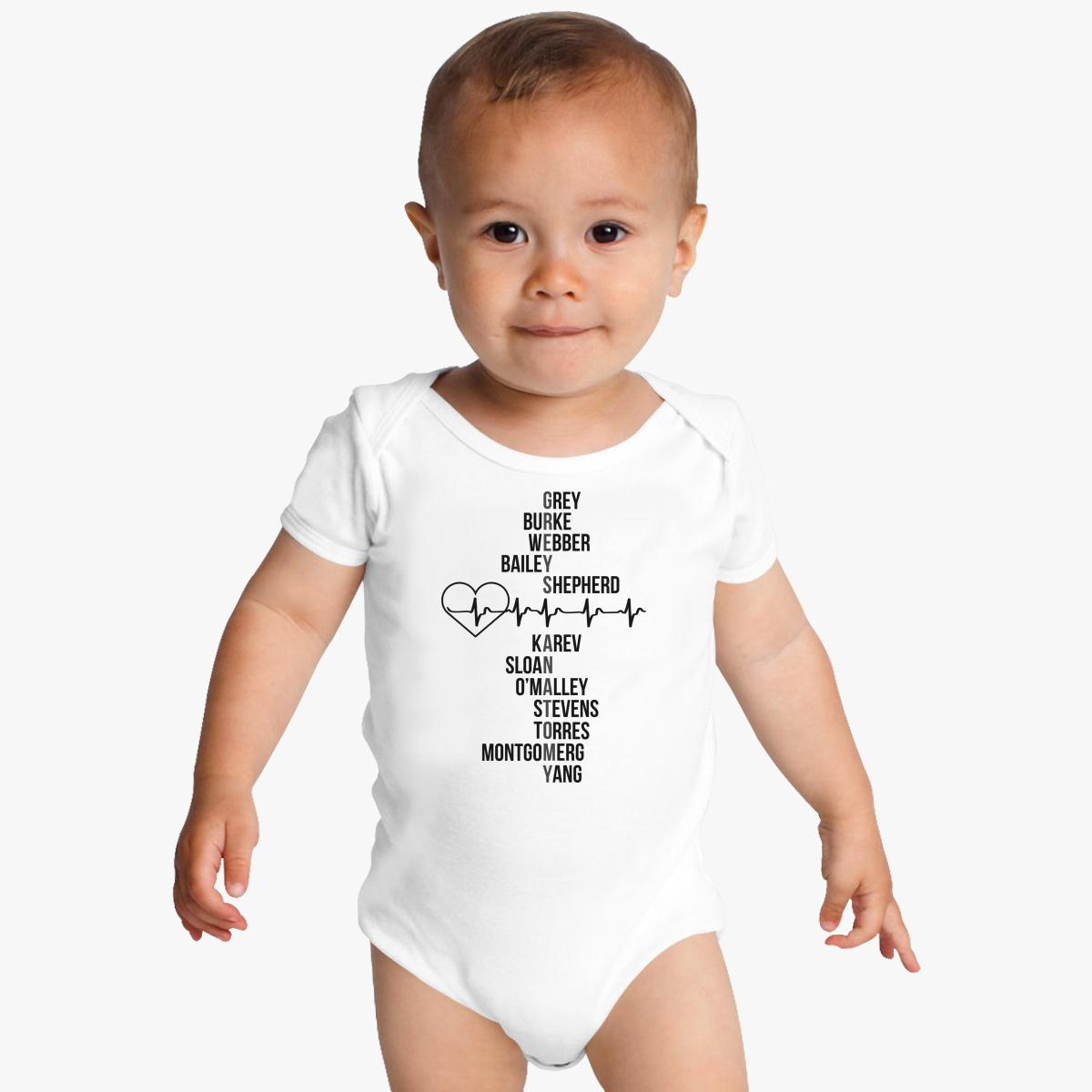 Dr. Greys Anatomy Baby Onesies | Customon.com