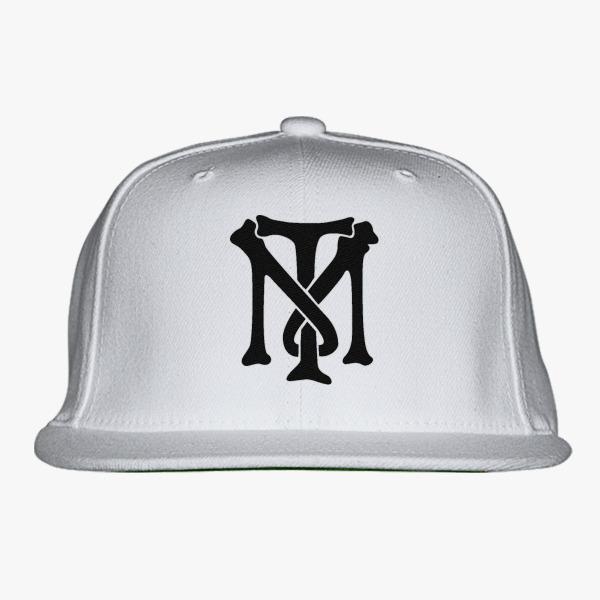 Scarface Tony Montana Bone Logo Snapback Hat Customon