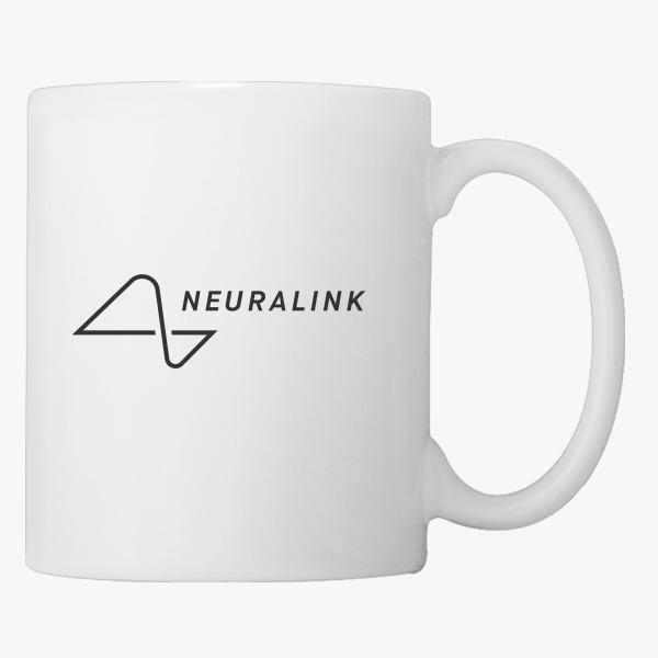 Neuralink Elon musk Coffee Mug | Customon.com
