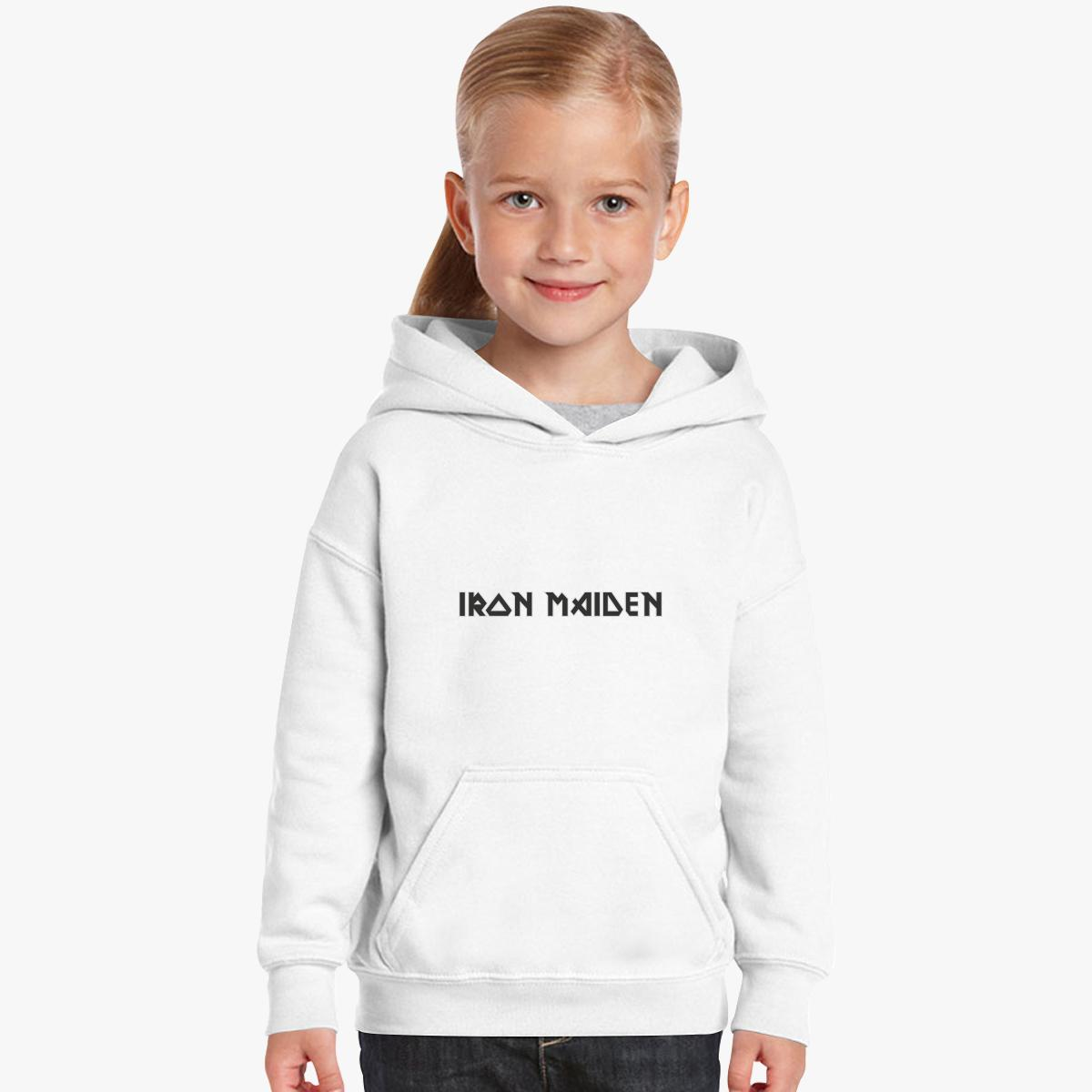 Iron Maiden Logo Kids Hoodie | Customon.com