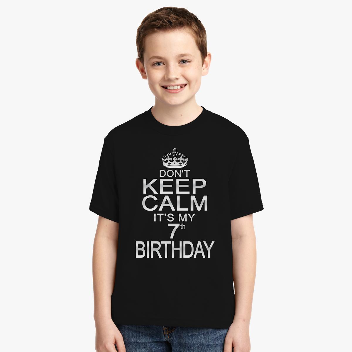 Keep Calm Its My Birthday Shirts