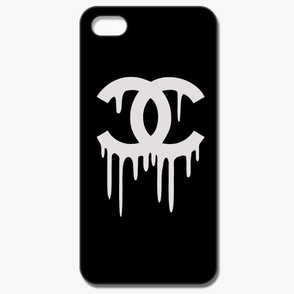 chanel cc parody logo iphone 5 5s case customon com