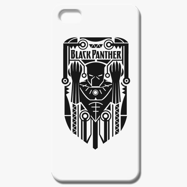 Black Panther Symbol Iphone 55s Case Customon