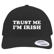 13be3ea16c9 St Patrick s Day Trust me I m IRISH Retro Trucker Hat (Embroidered) -  Customon.com