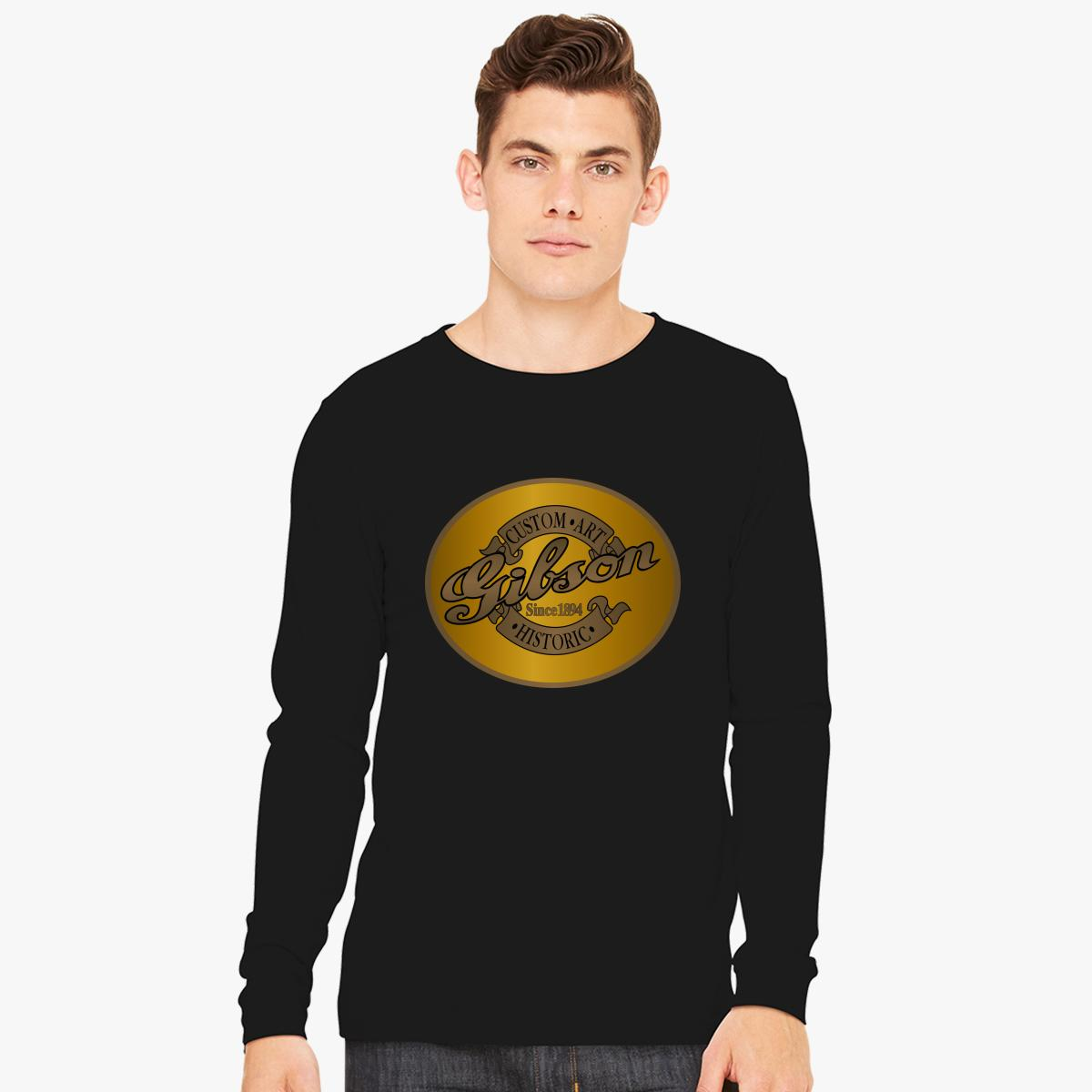 Gibson, Annata Manica Lunga T-shirt