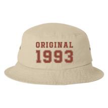 25th Birthday Bucket Hat Embroidered