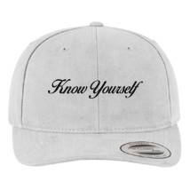72b6b9dde09 Know Yourself Brushed Cotton Twill Hat - Customon.com