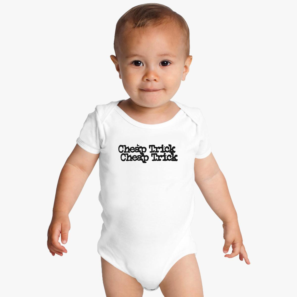 Cheap Trick band logo Baby Onesies | Customon.com