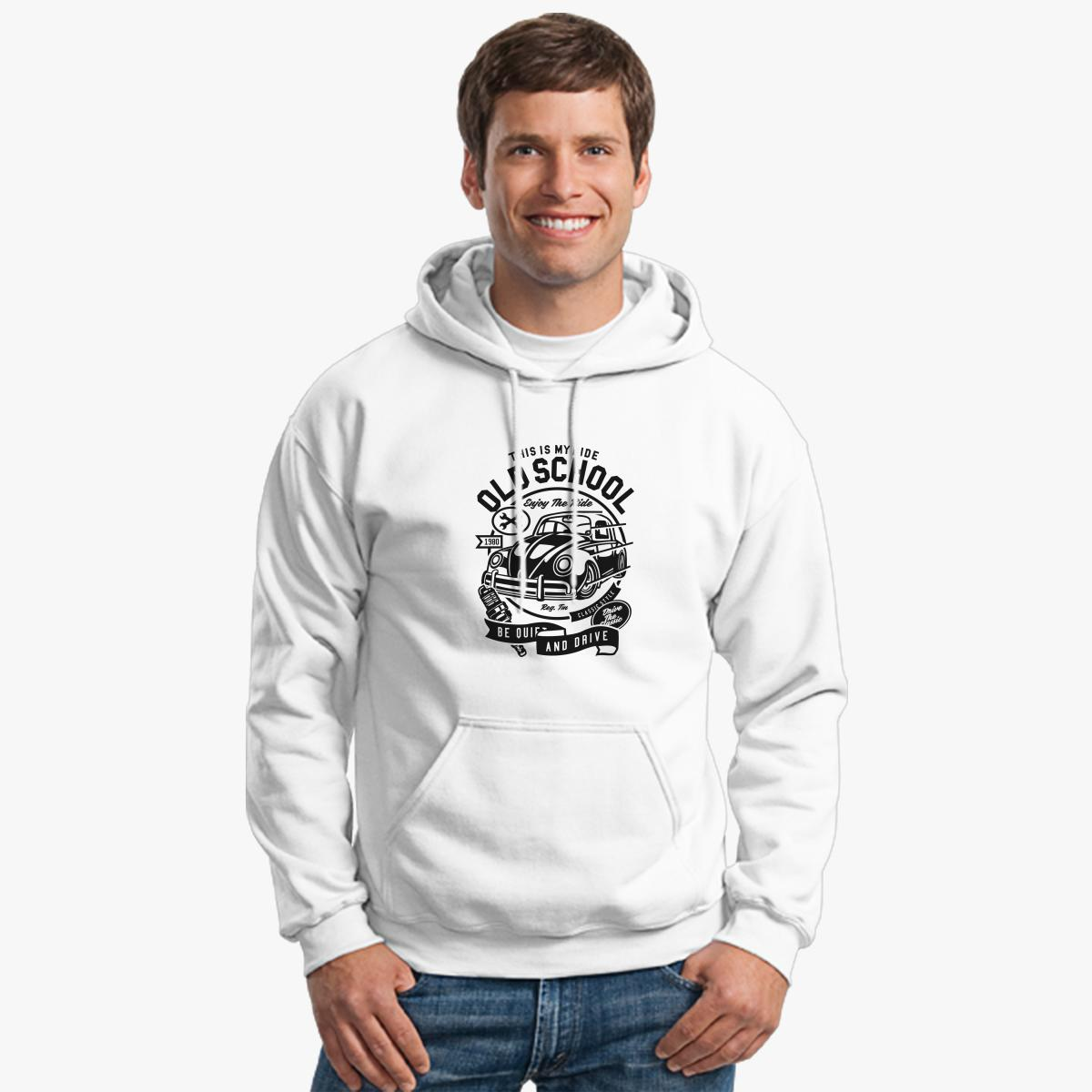 Old School Ride Hoodie | Customon.com