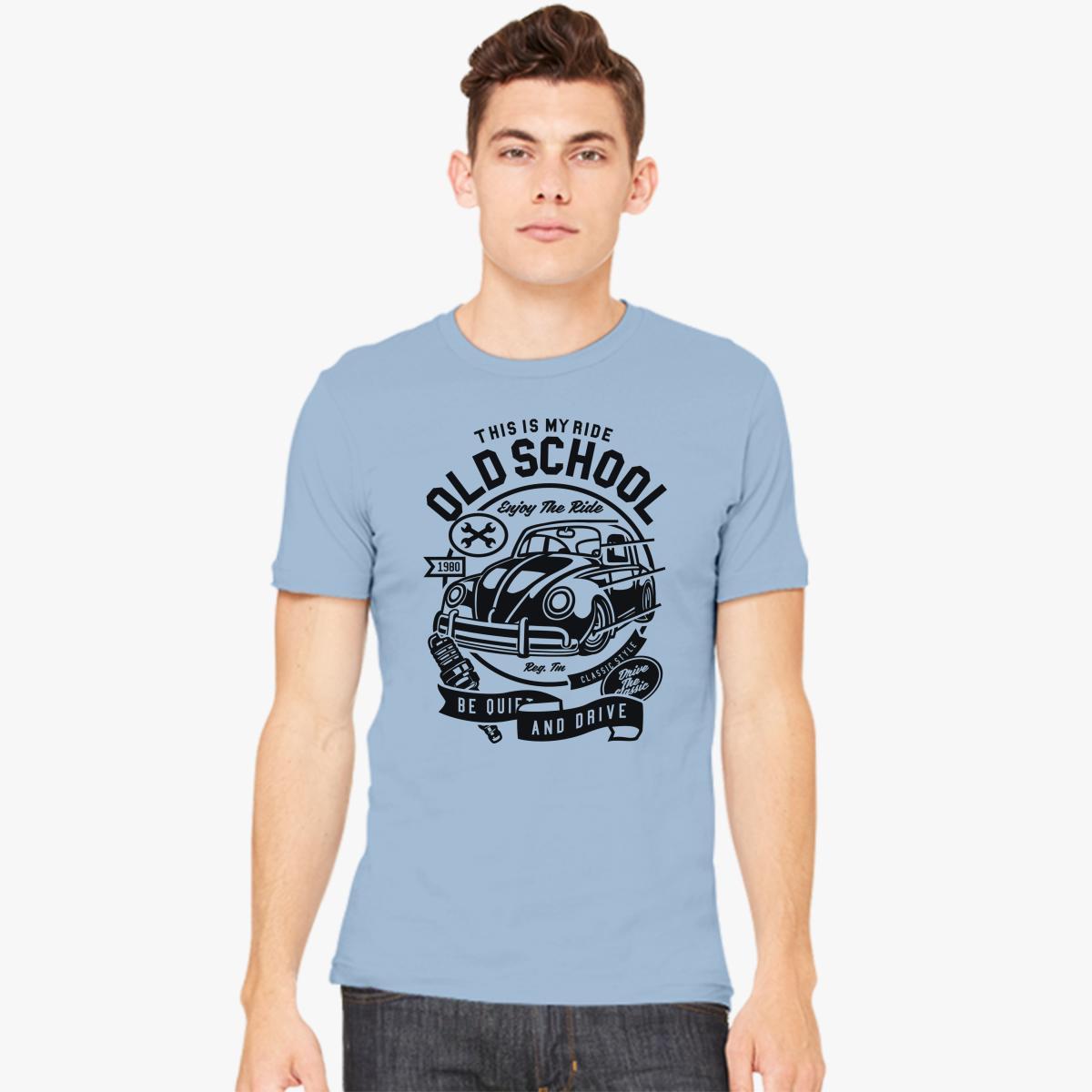 Old School Ride Men\'s T-shirt | Customon.com