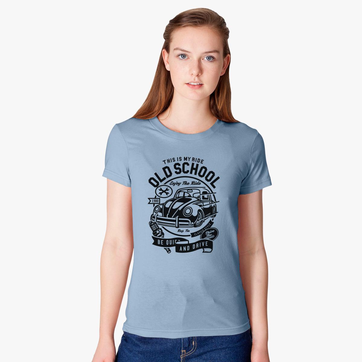 Old School Ride Women\'s T-shirt | Customon.com