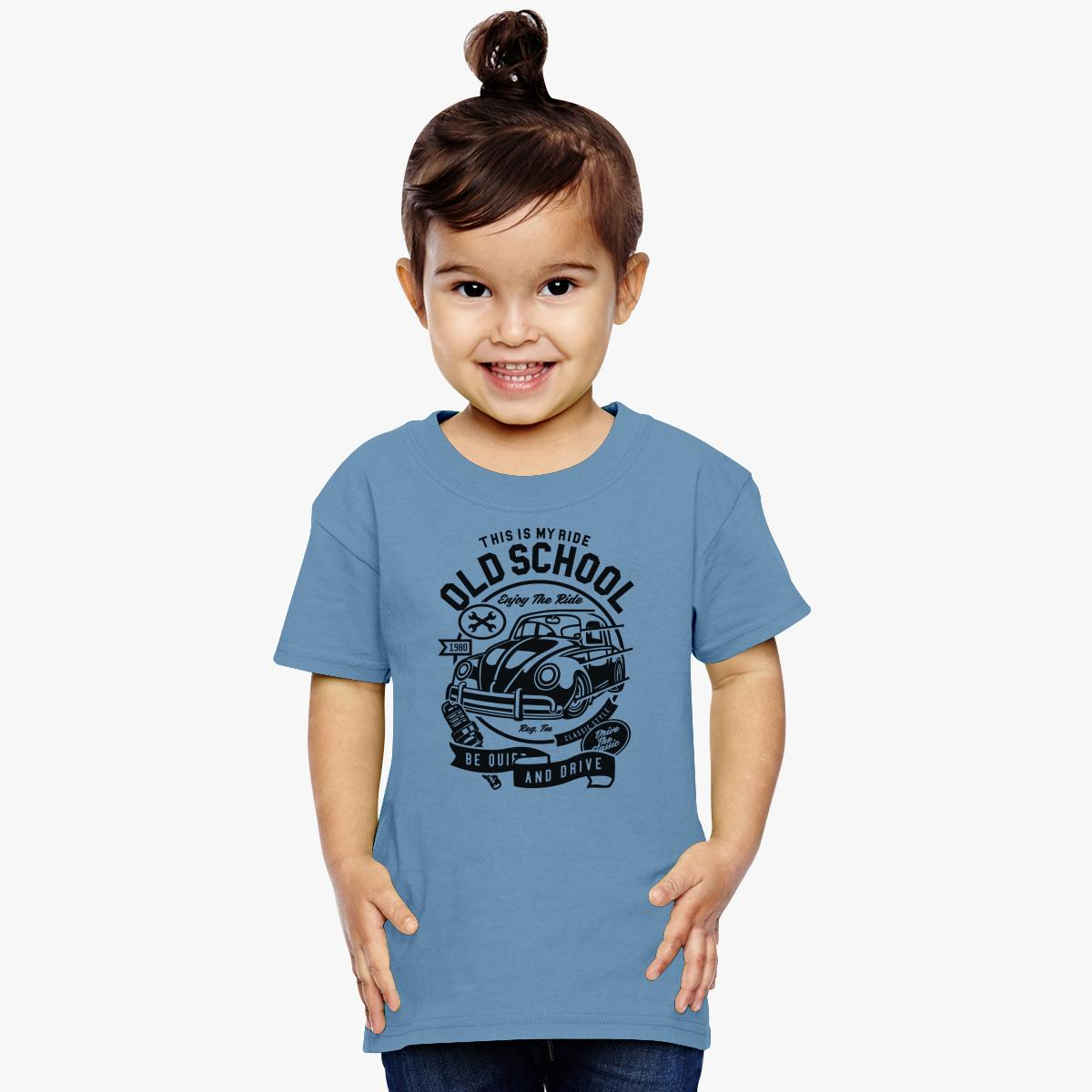 Old School Ride Toddler T-shirt | Customon.com