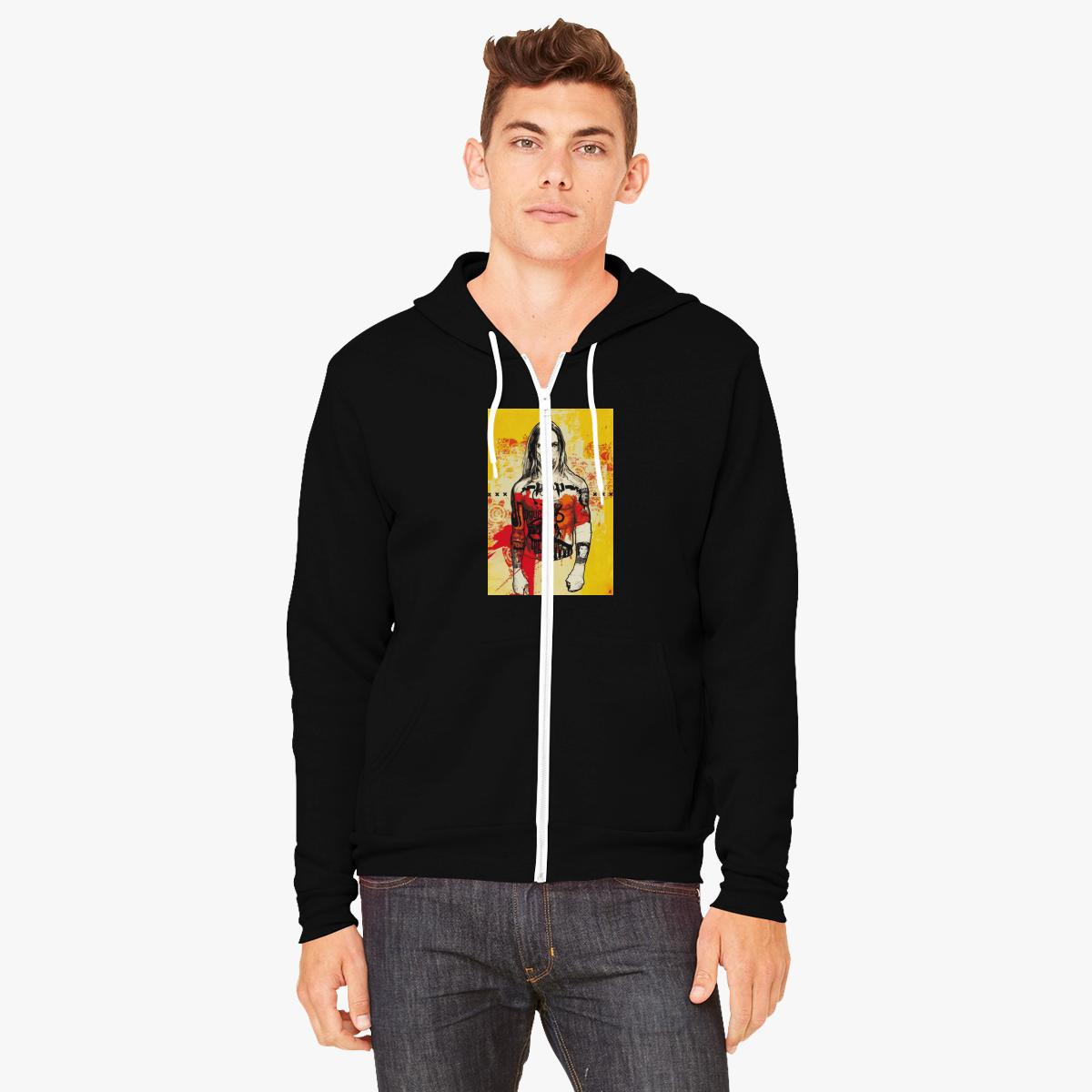 Black Iggy Zipped Hoodie Clean And Classic Buy Cheap How Much HC0BuI6R6X