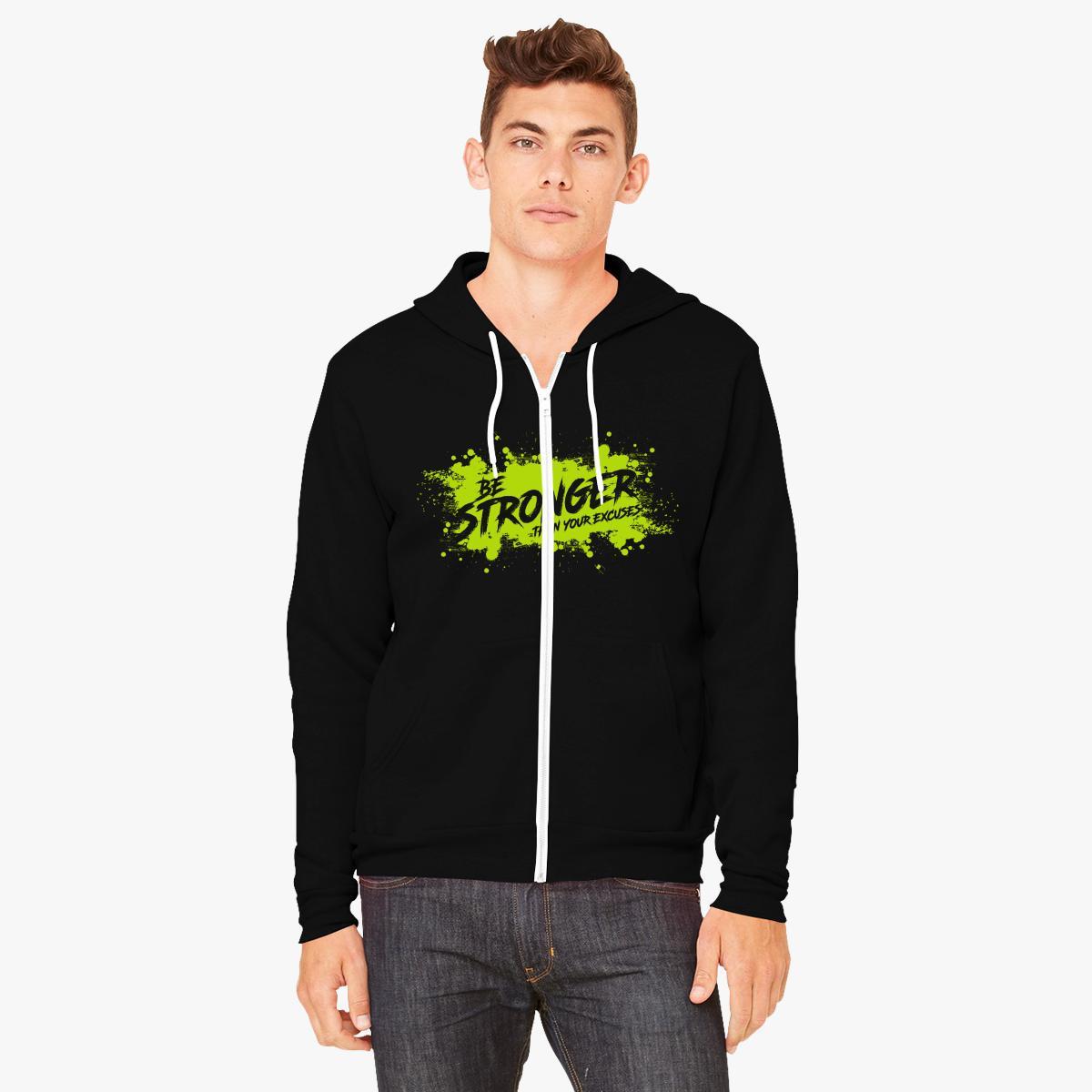 Better & Stronger Zip Up Hoodie