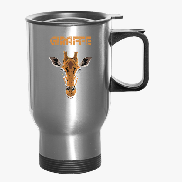 Giraffe-Head Travel Mug | Customon.com