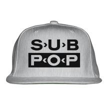 2414823e94e Sub Pop Records Snapback Hat - Customon.com