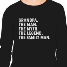 The man the myth the legend long sleeve t shirt customon grandpa the man the myth the legend the family man long sleeve t shirt publicscrutiny Gallery