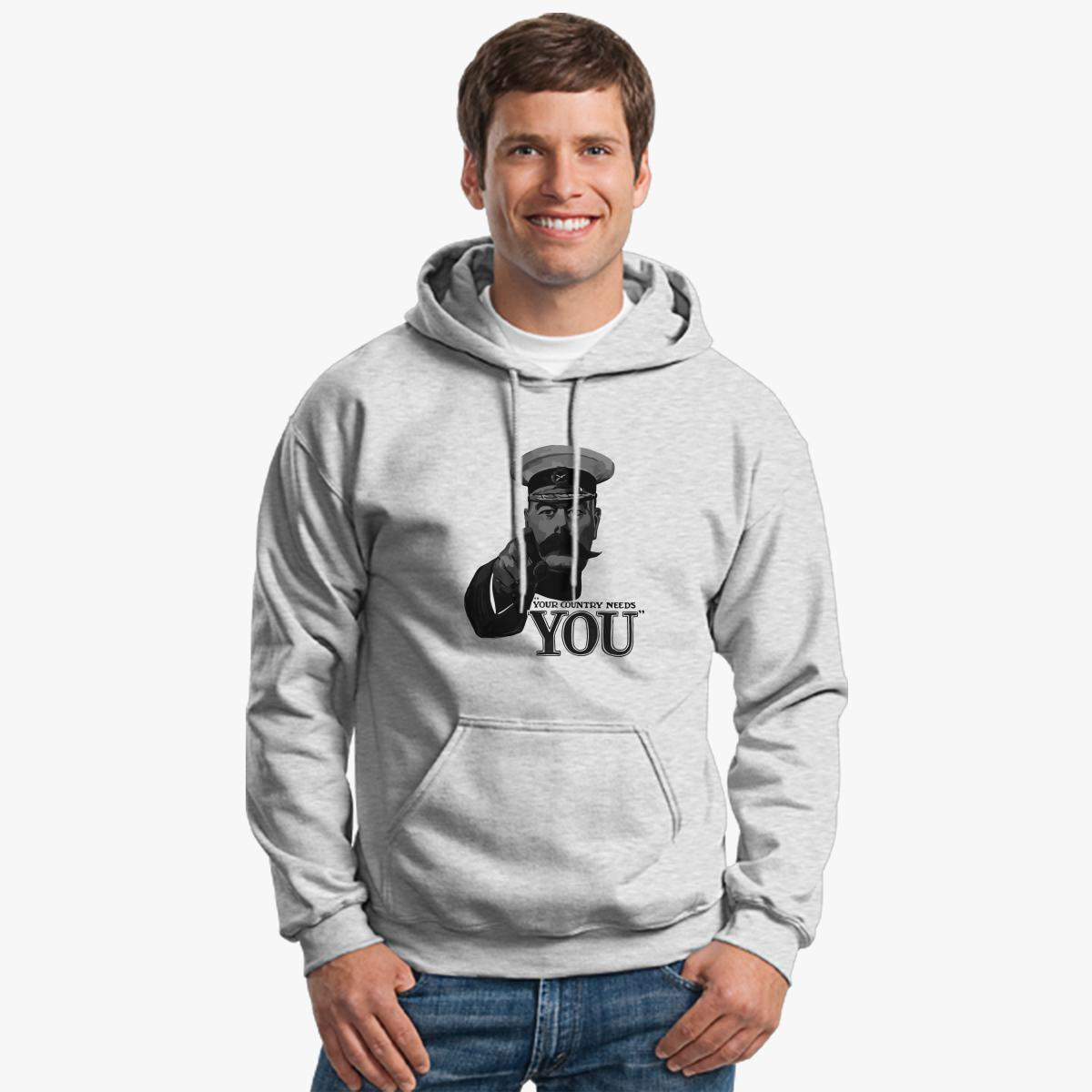 Lord Kitchener Your Country Needs You Hoodie | Customon.com
