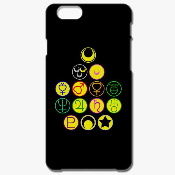Sailor Scouts And The Moon Symbols Iphone 66s Case Customon
