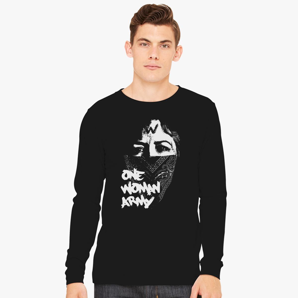 f69f3cf77 Army Black Knights Long Sleeve T Shirt - BCD Tofu House