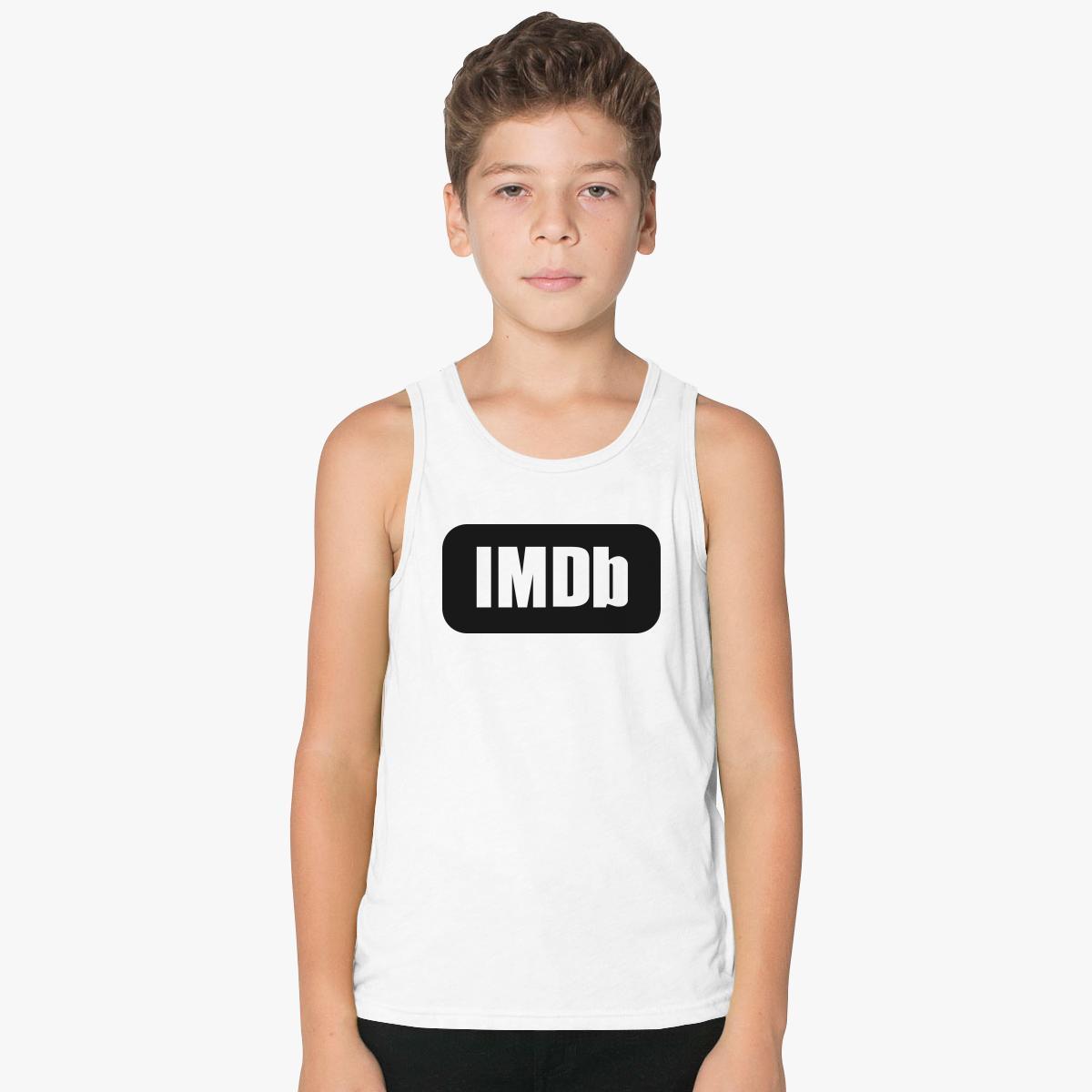 IMDb Logo Kids Tank Top | Customon.com