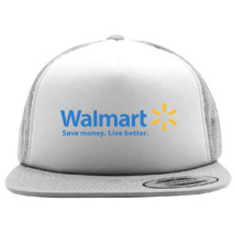 da831508675 Walmart Logo Foam Trucker Hat