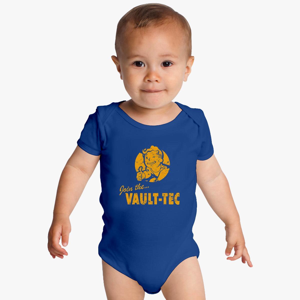 Fallout Vault Tec Baby Onesies | Customon.com