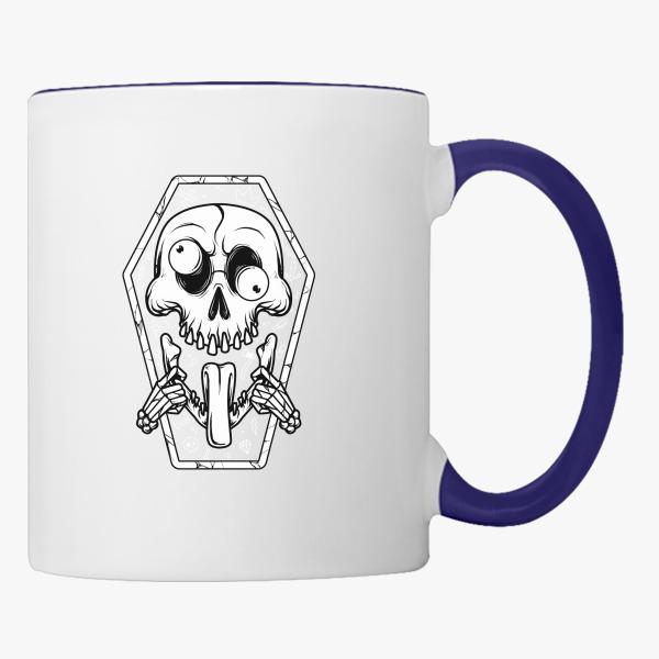 put tongue out coffee mug customon com