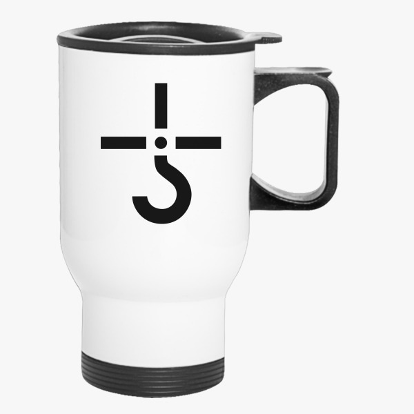 Blue Oyster Cult Hook Symbol Travel Mug Customon