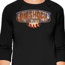 bioshock infinite baseball t shirt customon com