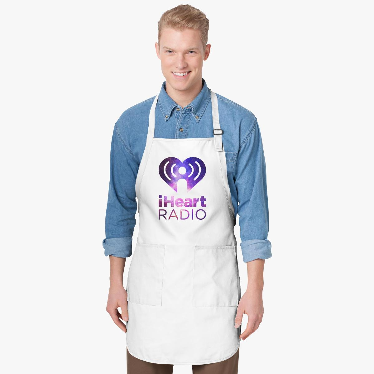 I Heart Radio (IHeartRadio) Galaxy Apron | Customon.com
