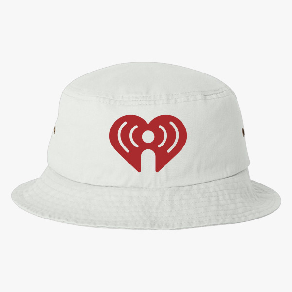 I Heart Radio Iheartradio Symbol Bucket Hat Customon
