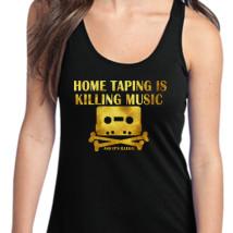 6c3e0398e8068 Home Taping Is Killing Music Women s Racerback Tank Top - Customon