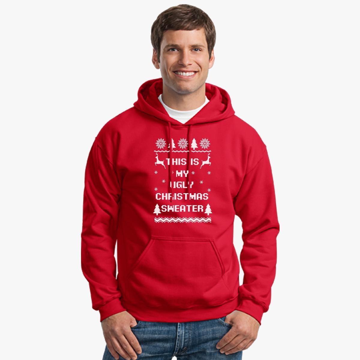 This is my ugly christmas sweater Hoodie | Customon.com