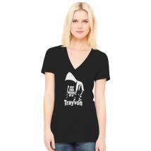 13afc79bd01 Trayvon Martin Hoodie Women s V-Neck T-shirt - Customon.com