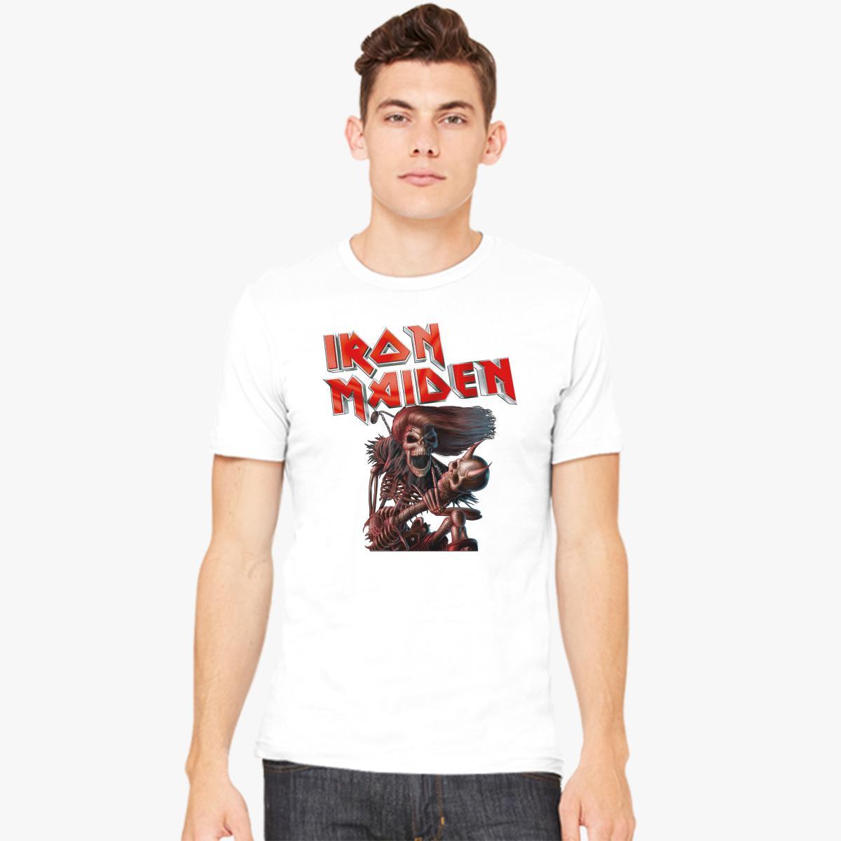 iron maiden Men\'s T-shirt | Customon.com
