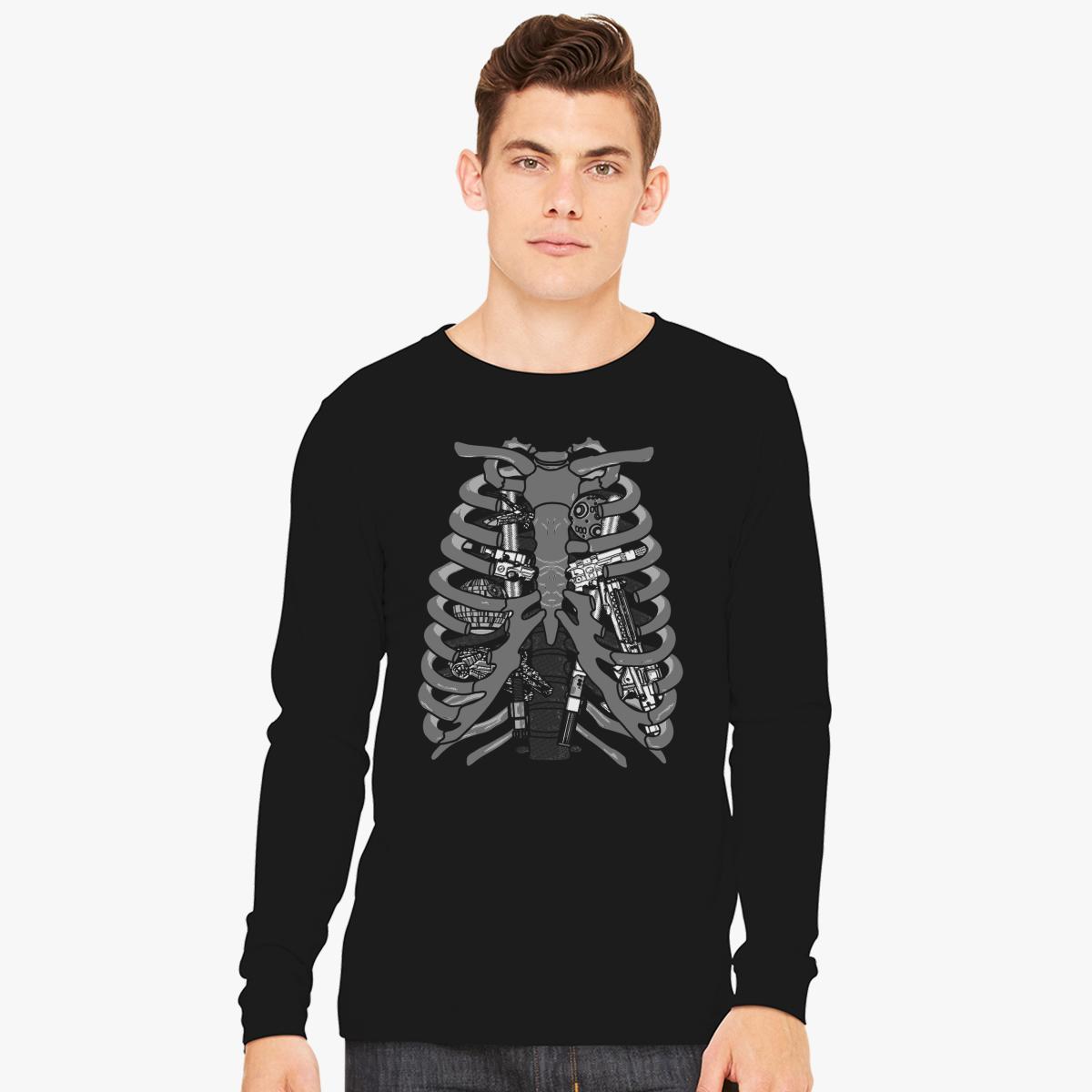 Anatomy of a Galaxy Long Sleeve T-shirt | Customon.com