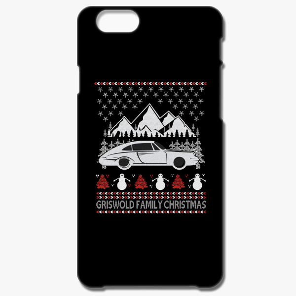 griswold family christmas ugly sweater iphone 66s case - Griswold Ugly Christmas Sweater