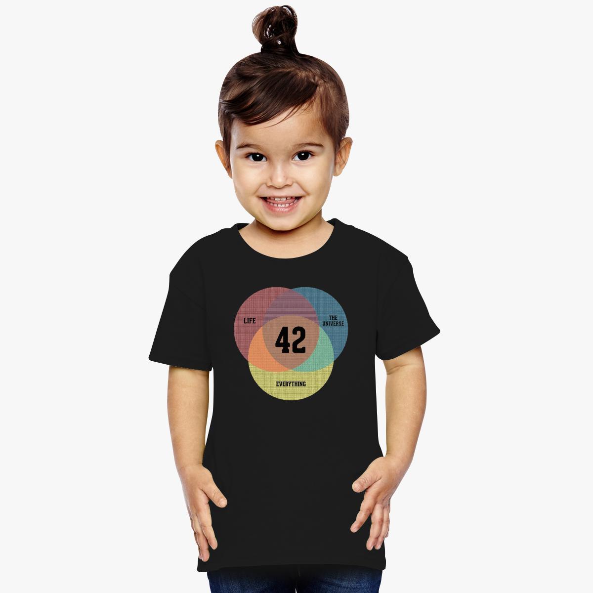 Venn diagram life the universe toddler t shirt customon venn diagram life the universe toddler t shirt pooptronica