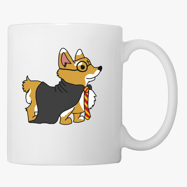 corgi potter coffee mug customon com