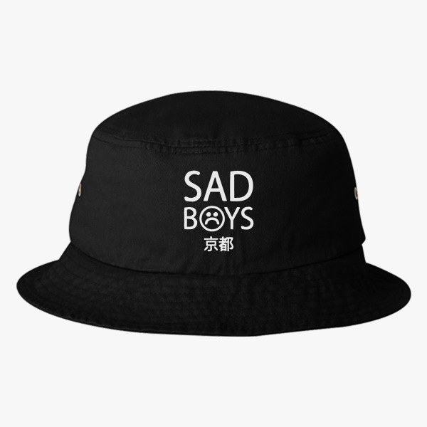 d5208823bbd ... reduced yung lean sad boys logo bucket hat 50185 e5cda